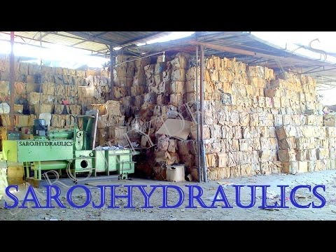 HYDRAULIC BALING PRESS MACHINE FOR WASTE PAPER,CARTON,BALING PRESS  MACHINE/PAPER BALER