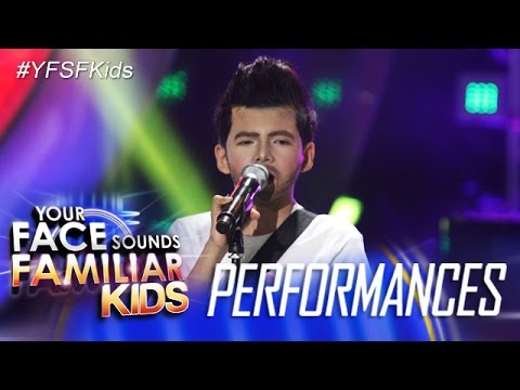 Видео, Your Face Sounds Familiar Kids Justin Alva as Adam Levine - Sugar