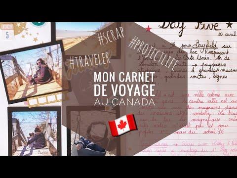 Mon carnet de Voyage ➳ CANADA