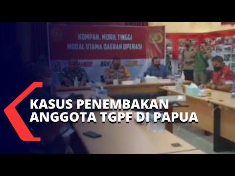 Anggota Tim Gabungan Pencari Fakta Ditembak KKB Papua, Polisi Siapkan Langkah Hukum