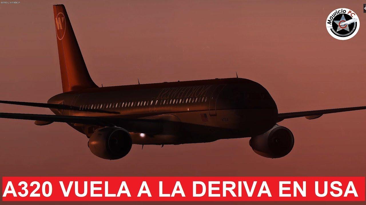 Misterioso avión vuela a la deriva en Estados Unidos - NorthWest 188