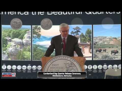 Cumberland Gap Quarter Release Ceremony