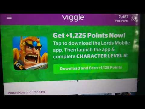 Perk Tutorial $2 Cashout $2/EveryDay Viggle App Trailers How To Make Money Online Free Paypal