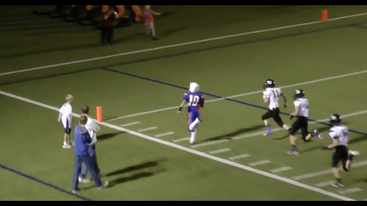 Britain Covey #10 One Game Highlights 10-15-2011 (Freshman Year High School)
