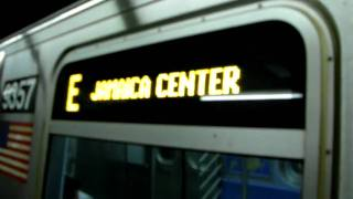 IND Jamaica Center Bound R160 (E) via the (F) at 57th St. [HD]