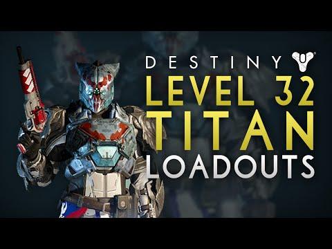 Destiny  Best Titan Build Pve