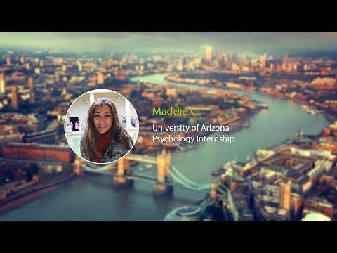 Psychology Intern Maddi's London Snapchat Takeover
