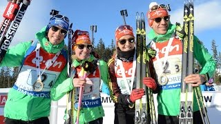 Mixed Staffel Canmore / 07. 02.2016