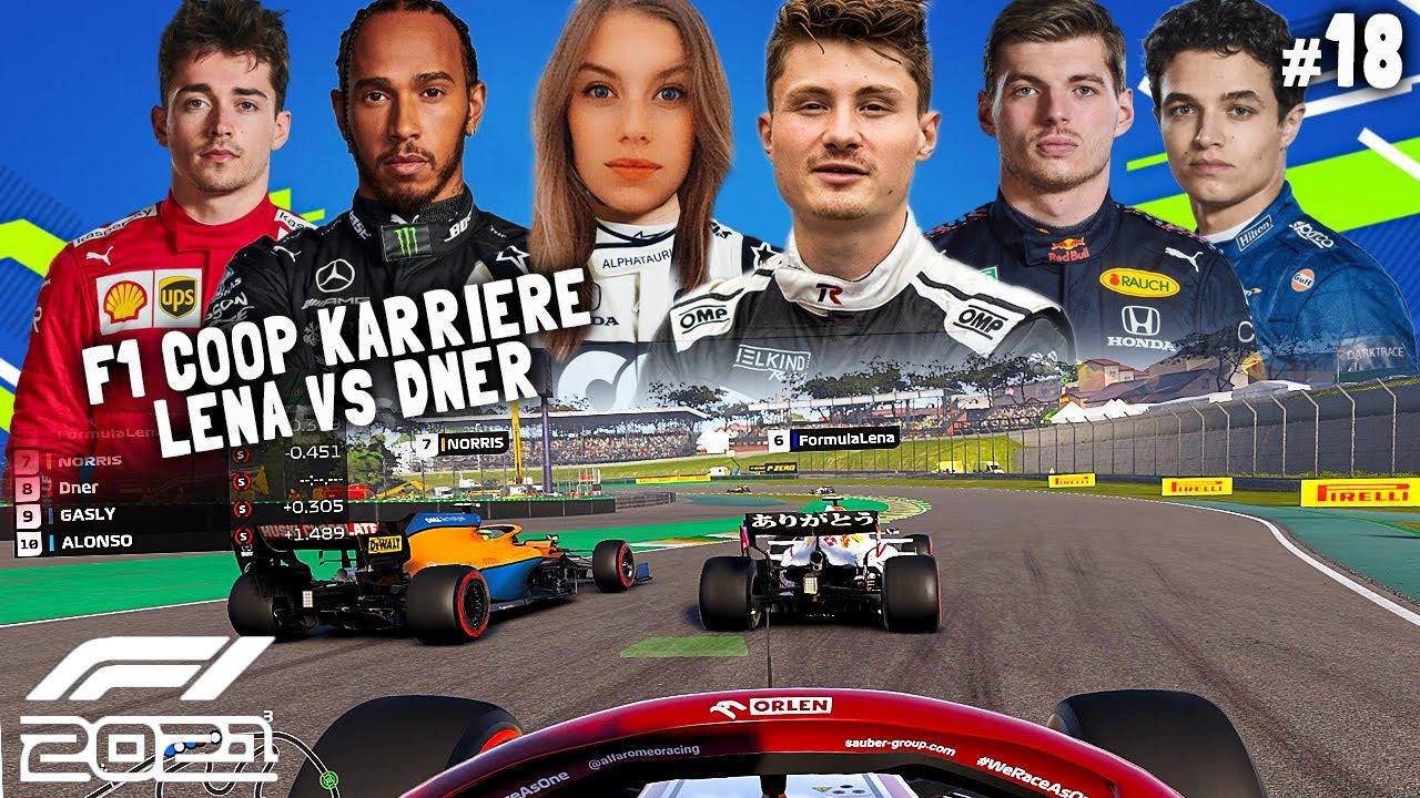 Download MEGA RENNEN & HARTE KÄMPFE GEGEN LENA!  | F1 2021 Koop Karriere #18 | Lena & Dner