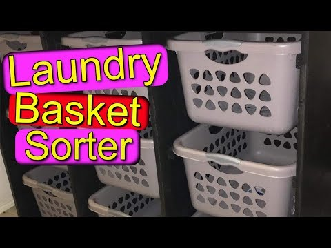 How to Build a Laundry Basket Sorter
