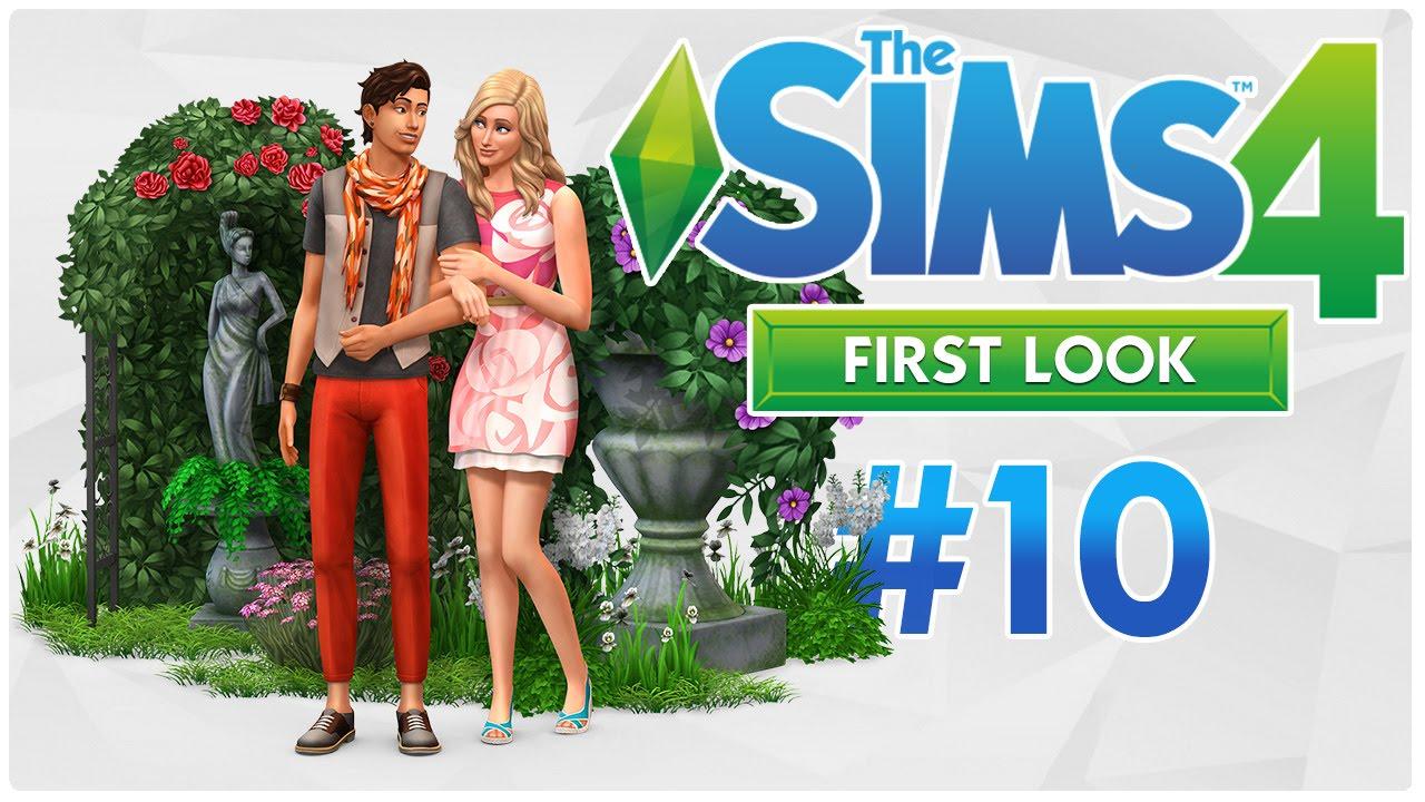Die Sims 4 Romantische Garten Accessoires [First Look 10]