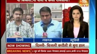 Delhi reels under soaring temperature & power cut