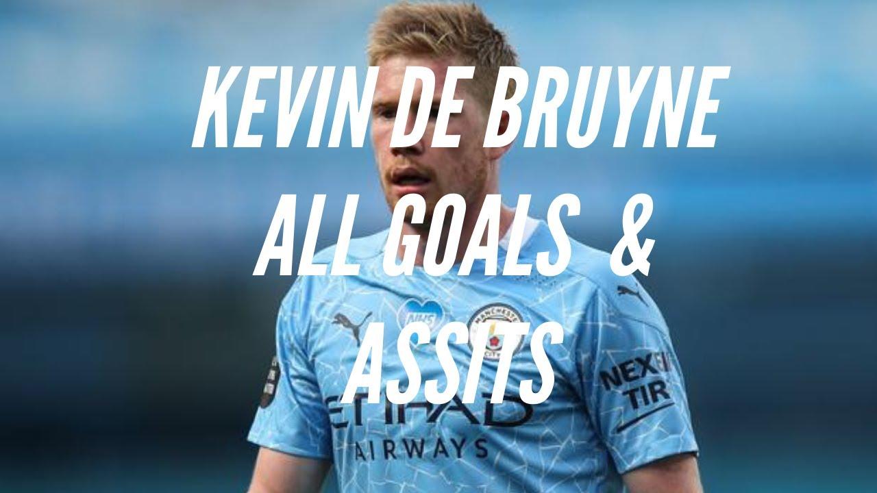 Kevin de Bruyne All Goals & Assists 2019/2020 | HD - YouTube