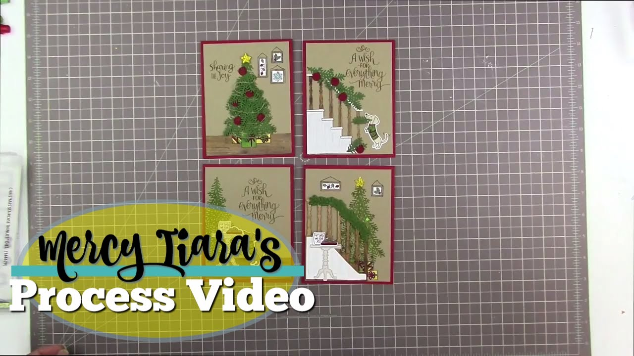 stampin up christmas card and giveaway closed winner announced - Christmas Card Closings