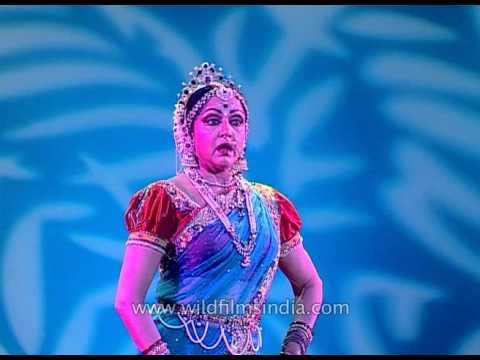 Maiya mori mein nahi makhan khayo - Shree krishna Leela