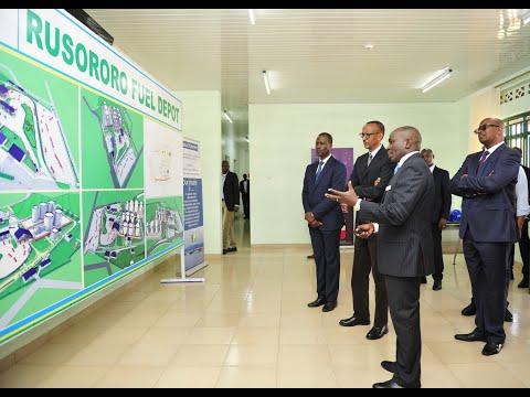 RWANDA UNVEILS NEW FUEL STORAGE DEPOT