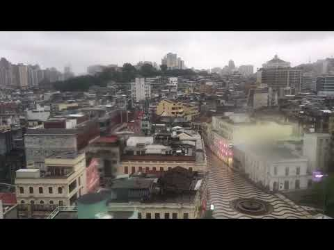 Typhoon Hato strikes Macau (time lapse)