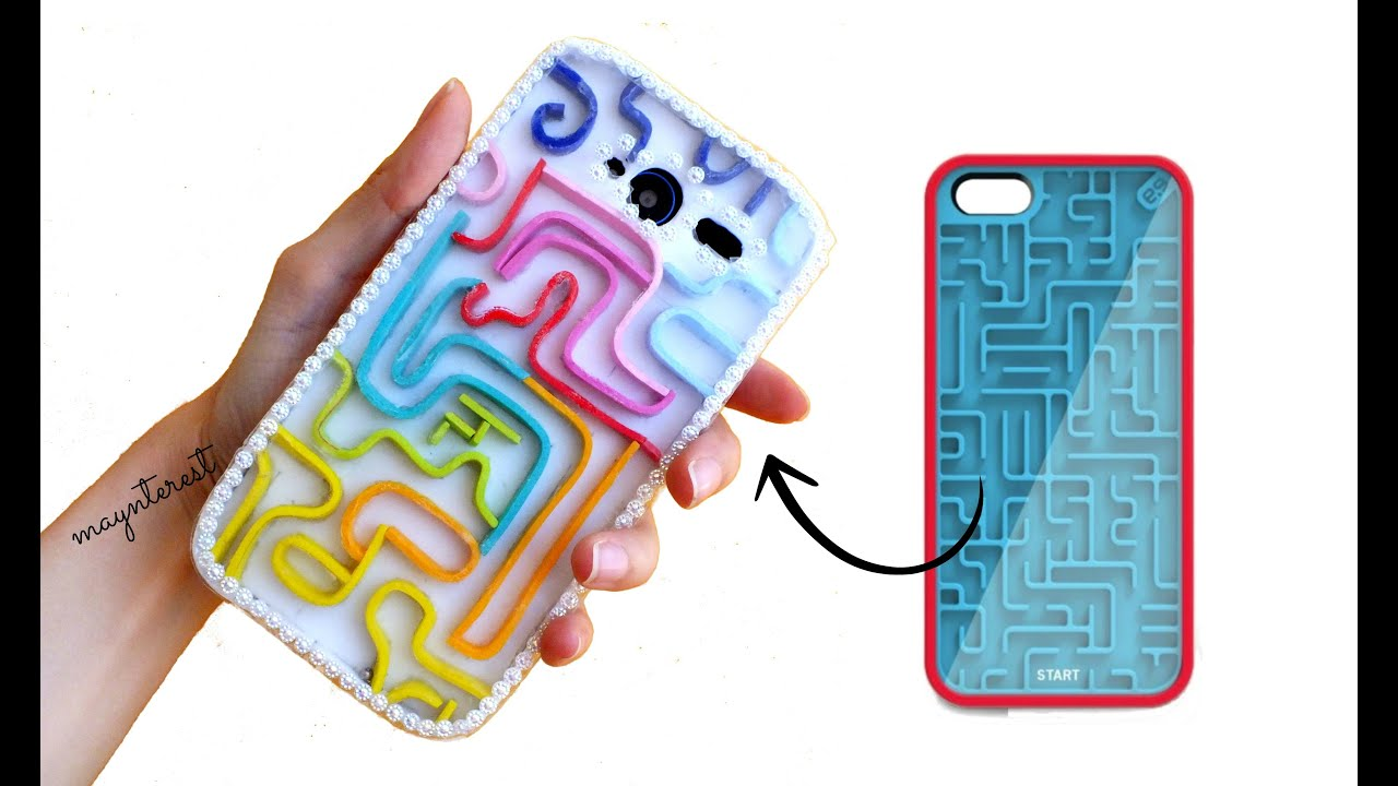How to how to make phone cases out of paper : DIY RETRO GAME PHONE CASE - YouTube