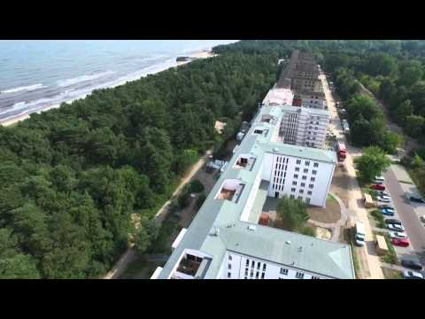 Prora KDF der Nazis aus der Luft mit Drohne Teil 3