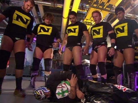 SmackDown: The Nexus attacks Rey Mysterio, MVP and Kaval