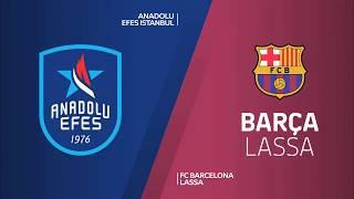 #EuroLeague 25. Hafta:  Anadolu Efes - Barcelona Lassa