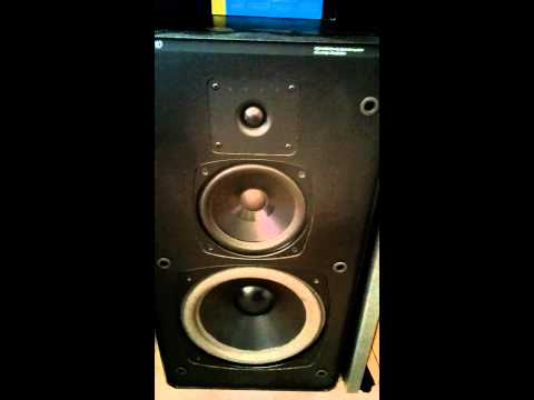 Old school Boston Acoustics HD10 speakers
