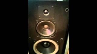 Old school Boston Acoustics HD10 speakers