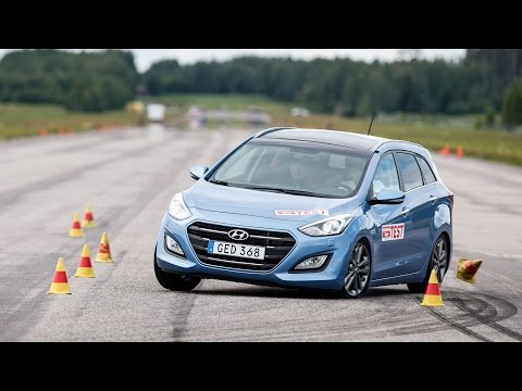 Hyundai i30 Wagon 2015 moose test Poor result