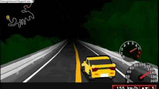 Initial D Flash Game