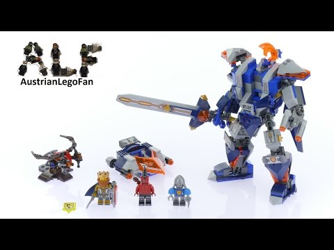 Lego Nexo Knights 70327 The King´s Mech - Lego Speed Build Review
