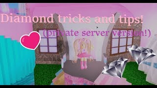 DIAMOND TRICKS Ep.2! (version serveur privé) Roblox
