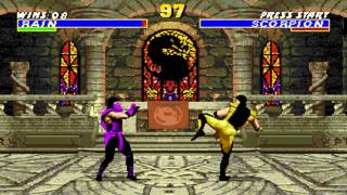Ultimate Mortal Kombat 3 Rain
