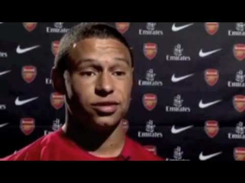 Alex Oxlade-Chamberlain First Interview With Arsenal