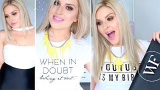 Clothing Haul & Try On's! ♡ Cute Tops, Dresses & Accessories!