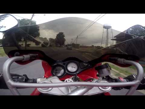 New GoPro test with Tl1000s Ride