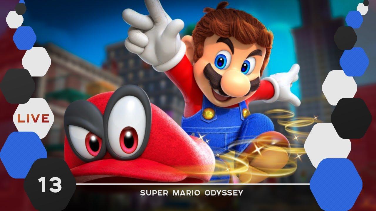 Mario Odyssey 13 Pays De La Cuisine Et De La Lune Youtube