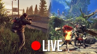 ESCAPE FROM TARKOV ft. Emre (ToastmanGames) & MONSTER HUNTER - (GameMeneer Livestream 9-2-2018)