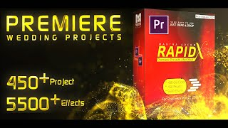 Premiere Pro Dongle Data Project | RAPID X- Content Details by Mantra Adcom With Video Styler | 2021