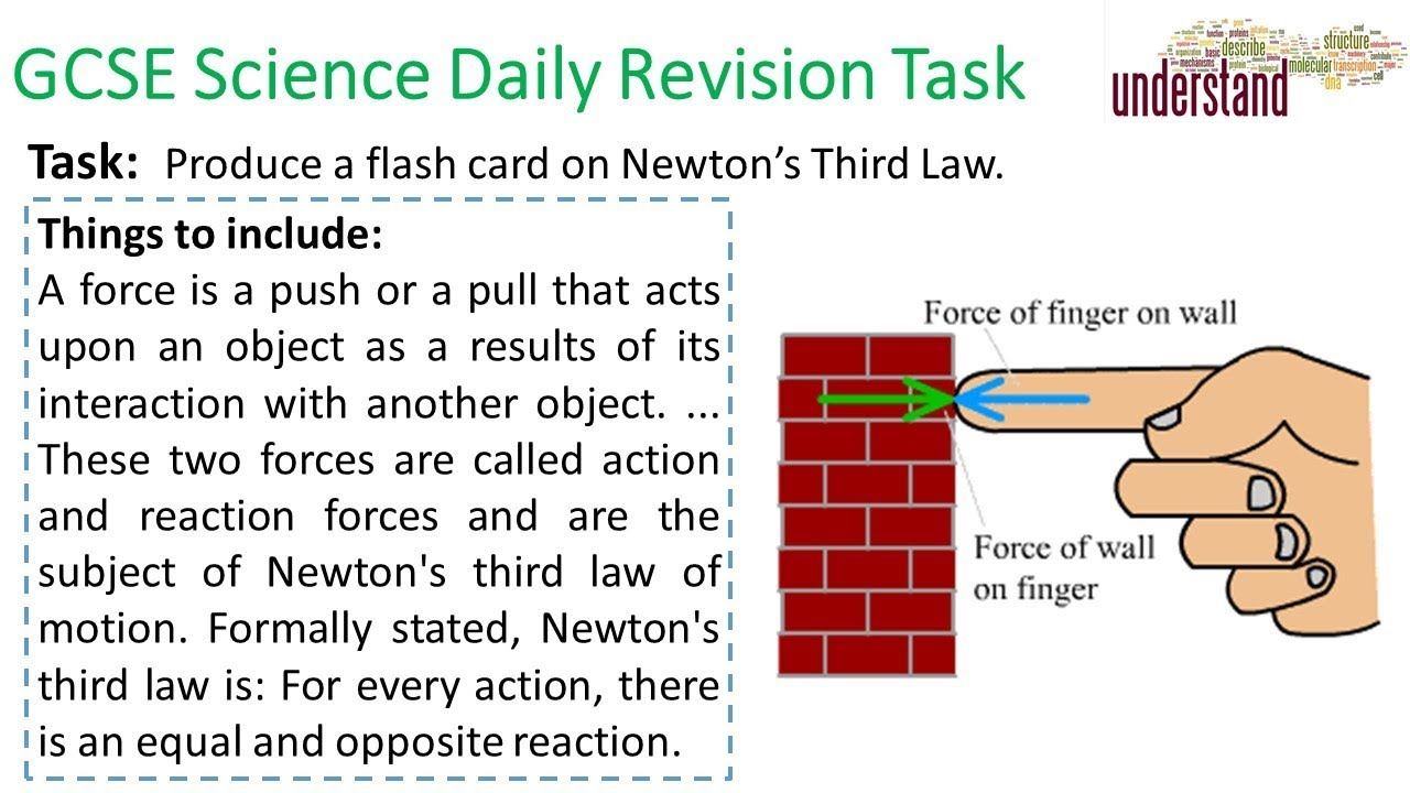 GCSE Science Daily Revision Task 184 - YouTube