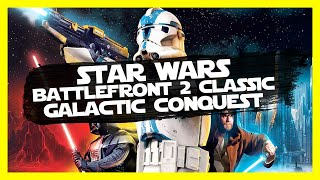 """""""May The 4th Be With You"""" Star Wars Battlefront 2 (Classic) Gameplay PC Let's Play Galactic Conquest"""