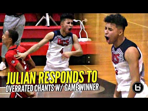 Julian Newman Responds to OVERRATED Chants w/ GAME WINNER!! CRAZY GAME, CRAZY FINISH!