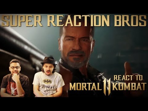 SRB Reacts to Mortal Kombat 11 | Official Terminator T-800 Gameplay Trailer