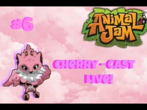 Cherry-Cast Live #6! Animal Jam Stream + Transfermice!