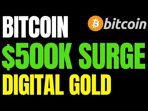 Bitcoin Price Will Hit $500,000 Cause It Beats Gold | BTC Price Up 4,000% In 5 Years