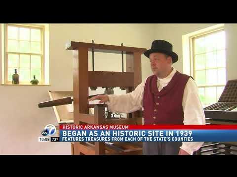 DAH's Historic Arkansas Museum Featured on KATV Ch. 7