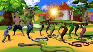 जादुई आँख और साप - Magical Eye and Snake | Hindi Kahaniya Moral Stories | हिंदी कहानिया |