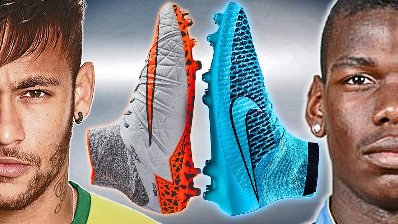 Neymar VS Pogba - Boot Battle: Magista vs Hypervenom 2 Test ...