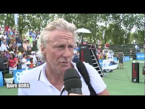 Borg and McEnroe win legends double @ Optima Open