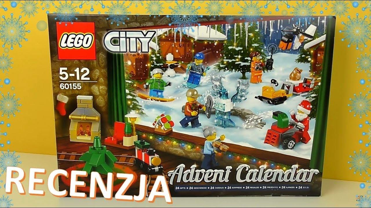 Lego City Kalendarz Adwentowy 2017 Recenzja Youtube
