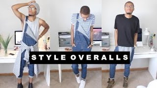 How To Style Summer: Overalls LOOKBOOK (Men